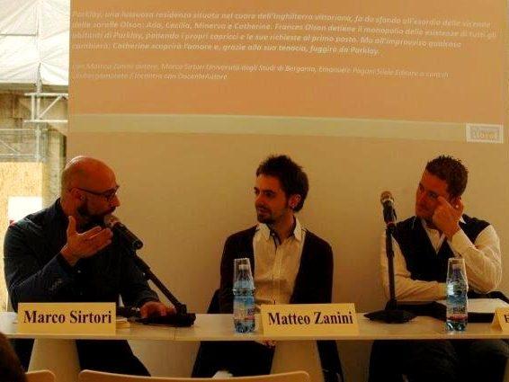 Fiera dei librai di Bergamo Matteo Zanini